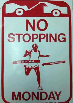 No stopping Boston Marathon Monday