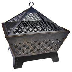 Landmann USA�26.2-in Antique Bronze Steel Wood-Burning Fire Pit LOWEs $99