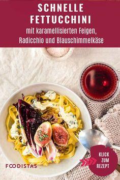schnelle Pastagerichte, schnelle Feierabendküche, Fettucchine › foodistas.de