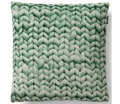 Snurk Beddengoed Sierkussen hoes Twirre, minty green, 50x50cm, groen