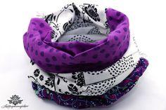 Loop Baumwolle von #Lieblingsmanufaktur: Farbenfrohe Loop Schals, Tücher und mehr auf DaWanda.com