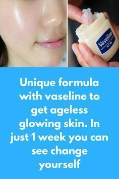 Today I am going to share a unique formula to get clear glowing skin with vaseline For this you will need 2 tea spoon vaseline Egg white Honey What to do: Take vaseline in a glass bowl and melt it … Skin Tips, Skin Care Tips, Beauty Skin, Health And Beauty, Beauty Care, Skin Care Routine For 20s, Clean Face, Clean Pores, Tips Belleza