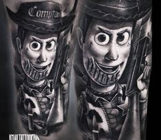 Sheriff Woody by Khail Tattooer