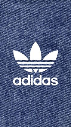[デニム]アディダスロゴ/adidas Logo2iPhone壁紙 iPhone 5/5S 6/6S PLUS SE Wallpaper Background
