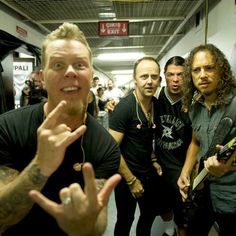 The Big Four - Metallica Hardwired To Self Destruct, Metallica Live, Robert Trujillo, Kirk Hammett, James Hetfield, Punk, The Big Four, Heavy Metal Bands, Alternative Music