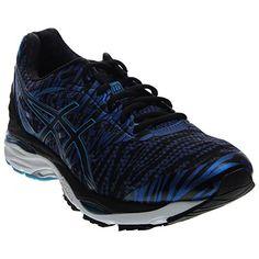 ASICS Men's Gel-Cumulus 18 BR Running Shoe, Deep Blue/Black/Island Blue, 11 M US