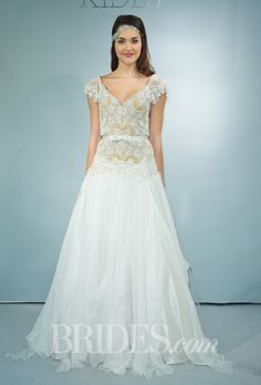 Victoria Kyriakides Wedding Dresses Fall 2014 Bridal Runway Shows | Wedding Dresses Style | Brides.com
