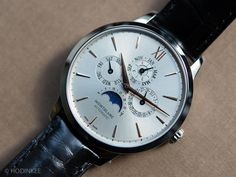 The Montblanc Meistersuck perpetual calendar, a surprisingly affordable perpetual for $12,800 (in steel).