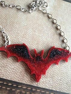 Hey, I found this really awesome Etsy listing at https://www.etsy.com/listing/163727653/large-glitter-bat-resin-pendant