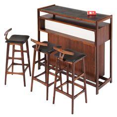 Dyrlund Dry Bar In Rosewood, Denmark Furniture Storage, Cool Furniture, Furniture Design, Bar Cabinets, Dry Bars, Mid Century Style, Denmark, Console, Mid-century Modern