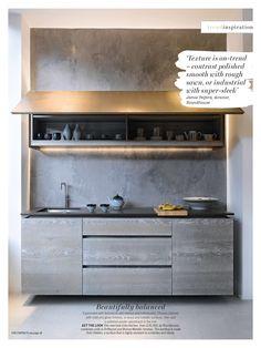 kitchen ventian plaster background