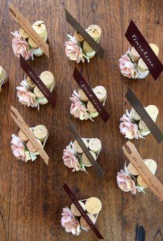 rose u0026 lace wedding place card holder