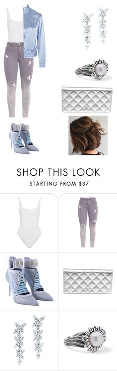 """Untitled #128"" by wolftatii ❤ liked on Polyvore featuring Eres, Puma, Chanel, Tiffany & Co. and Topshop"