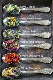 Husmor Anna: Om att göra eget te