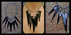 Vinyl Record shard Necklace - JEWELRY AND TRINKETS