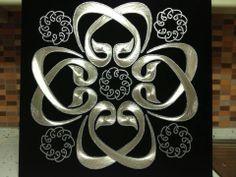 The Art Of Nails, String Art Patterns, Logo Design, Graphic Design, Islamic Art, Collage, Bullet Journal, Bling, Shoulder Bag