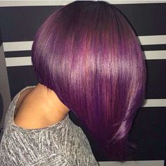 """This is such a beautiful purple! Who wants it?"" Photo taken by @inspirehairstyles on Instagram, pinned via the InstaPin iOS App! http://www.instapinapp.com (03/02/2015)"