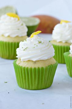 Lime Buttercream Frosting Recipe | Mango Lime Cupcakes