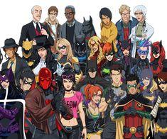 Batman Inc. - Ten Years Later by on DeviantArt Dc Comics Heroes, Arte Dc Comics, Marvel Comics, Batman Artwork, Batman Wallpaper, Batwoman, Batgirl, Nightwing, Knight