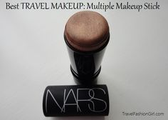 The best travel makeup is the one that you can use for everything. Multi-purpose items are just as important with your on the road beauty routine as they are with your travel clothing choices. Tropical heat, diving, trekking, and most other backpacker activities wipe out any attempted beauty efforts. Less is definitely more when it comes to travel make up.