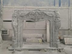 INCREDIBLE HAND CARVED CARRARA MARBLE FRENCH DESIGN FIREPLACE MANTEL - MCFM34 #Unbranded Marble Fireplace Mantel, Fireplace Inserts, Marble Fireplaces, Fireplace Mantels, Tabletop Tv Stand, Modern Tabletop, Tv Wall Mount Bracket, Wall Mounted Tv, Mantel Mount