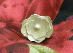 sterling silver flower ring soldering project