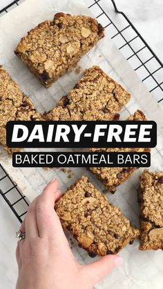 Gluten Free Cookies, Gluten Free Desserts, Dairy Free Recipes, No Bake Desserts, Dessert Recipes, Healthy Recipes, No Bake Oatmeal Bars, Vegan Pie Crust, Baked Oatmeal Recipes