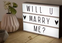 #wedding #lightboxes #quirky #unusual