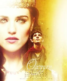 """Merlin and Morgana """"A Land of Myth and a Time of Magic: Merlin-BBC"""""""