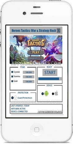 Heroes Tactics War & Strategy Cheats Hack Cheat 2016 tool download. With…