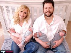 One In a Million: Parents Take Home Two Sets of Identical Twin Girls http://www.people.com/article/gardner-quadruplets-tyson-gardner-ashley-gardner-take-home-daughters