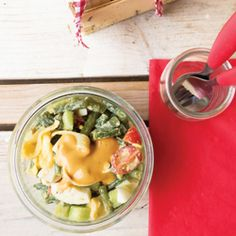 Organic Pasta Salad HealthyAperture.com