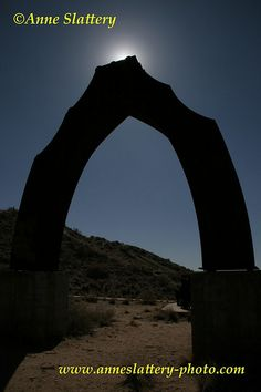 The Sun behind Puerta del Sol by Armando Alvarez, Tome Hill, Belen, New Mexico. IMG_A_35859 by The Bright Edge - Photography by Anne Slattery, via Flickr.