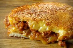 Sloppy Joe Grilled Cheese (plus 17 other grilled cheese sandwich ideas)