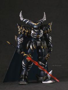 GUNDAM GUY: 1/144 Master Gundam + Fuunsaki [Noridic God Odin + God Ma Sleipnir] - Custom Build