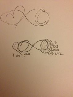 Cute mother daughter tattoo idea, I love this so much! My mom has been saying this to me for as long as i can remember!