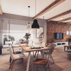 Home Inspiration // Loft Interior The Perfect Scandinavian Style Home Loft Design, House Design, Scandinavian Style Home, Budget Home Decorating, Diy Decorating, Home Improvement Loans, Loft Interiors, Elegant Homes, Style At Home