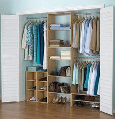Homestar Furniture 25-Inch Wide Closet Tower with Rods, Walnut: Amazon.ca: Home & Kitchen ~ for Kiki