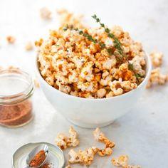 Smoky Spiced Buttered Popcorn