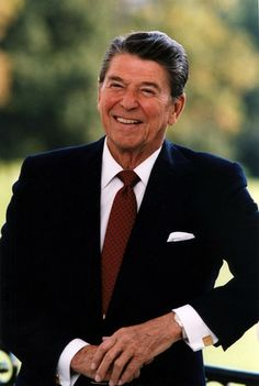 Ronald Reagan no. 40 great President & patriot More Some fun and interesting facts about America's President, conservative icon Ronald Reagan. Nancy Reagan, 40th President, President Ronald Reagan, Greatest Presidents, American Presidents, Chevrolet Suburban, Facts About America, Donald Trump, Before Us