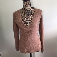 Victoria's Secret Sweater Victoria's Secret Moda International cozy sweater. Great to wear with a tank underneath, on a cool fall or winter day. Victoria's Secret Sweaters V-Necks