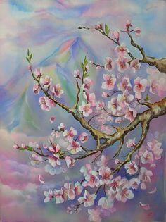 Annette Loginova art-Peinture sur soie (TAG: LINK=>ARTIST'S GALLERY; UNDER COPYRIGHT)