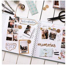 """#how #to #make #a #photo #album #diy #scrapbook ... mit viel Herz 💕 auf Instagram: """"2019 hat uns schon so viele Fotomomente beschert. 🥰 Und damit sie nicht unsichtbar auf dem Handy versauern, haben wir unsere ... """" - #beschert #damit #fotomomente #instagram #nicht #schon #viele Album Journal, Bullet Journal Writing, Scrapbook Journal, Bullet Journal Ideas Pages, Travel Scrapbook, Bullet Journal Inspiration, Diy Scrapbook, Diy Album Photo, Album Diy"""