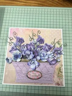Happy Anniversery, Tattered Lace Cards, Create And Craft, Carnations, Decorative Boxes, Crafts, Inspiration, Biblical Inspiration, Manualidades