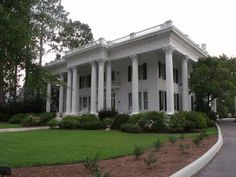 old mansions in eufaula - Google Search