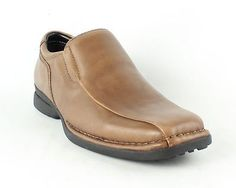 Kenneth Cole Punch It! LE Whiskey Shoes Mens size 8.5 M New $115