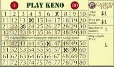 How to Play Keno Even though keno is a game of chance, it does not indicate there isn't any plan involved. Examine our keno strategy tips and lessen the Number Generator, Online Casino, Play, How To Plan, Games, Tips, Gaming, Plays, Game