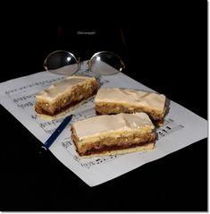Gizi-receptjei: Asszonydicséret. (vagy Zongorabillentyű) Sweet Cakes, Banana Bread, French Toast, Cheesecake, Sweets, Cookies, Breakfast, Advent, Recipes