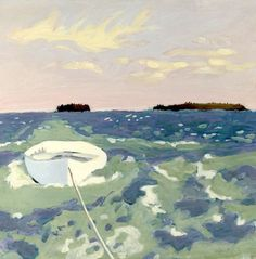 View THE TENDER By Fairfield Porter; oil on canvas, unframed; 27 by 30 in. Access more artwork lots and estimated & realized auction prices on MutualArt. Fairfield Porter, Illustrations, Illustration Art, Paintings I Love, Sea Paintings, American Artists, Landscape Paintings, Landscapes, Painting Inspiration