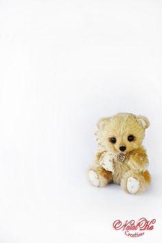 Teddy Bear Berny  handmade unique collectors von NatalKaCreations, 60.00